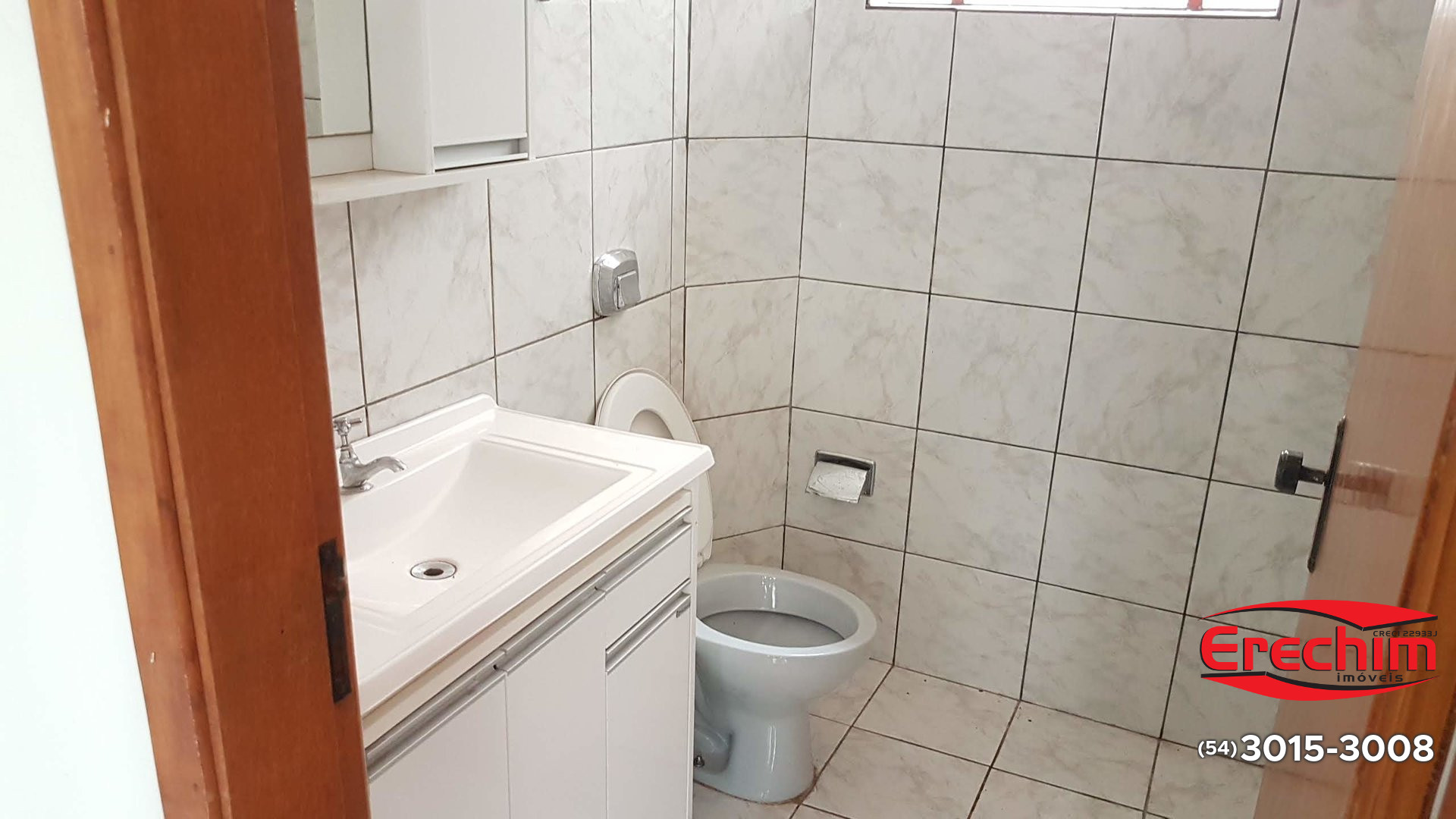 Banheiro do salão de festas