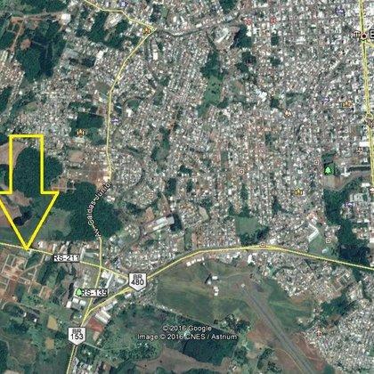 Terreno plano em bairro em Erechim RS