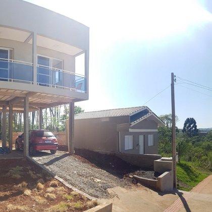 Casa nova sobre pilotis Novo Atlantico em Erechim