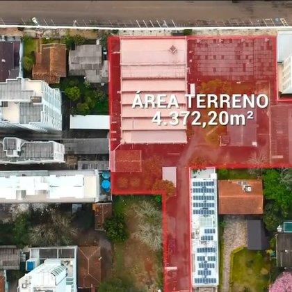 Terreno Comercial Grande no Centro de Erechim RS