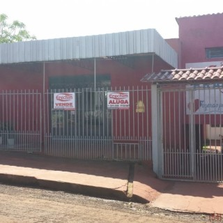 Sala Comercial com Casa