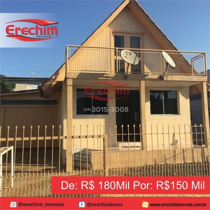 Casa Preço Baixou De: R$180Mil Por: R$150Mil