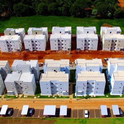 Apto 2 dormitórios condominio fechado em Erechim RS
