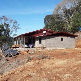 Área rural com casa - Entre Erechim e Aratiba