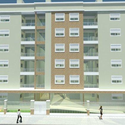 Apartamento com 1 suíte mais 2 dormitórios no centro de Erechim RS